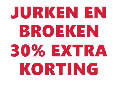 30% EXTRA korting jurken & broeken - dames / heren / kids @ Mango Outlet