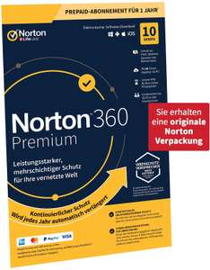 Norton 360 Premium 2020 - 10 Apparaten - 1 Jaar - 75GB