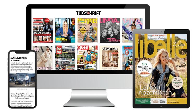1 maand GRATIS digitaal Tijdschriften lezen, oa Donald Duck, Panorama ed.