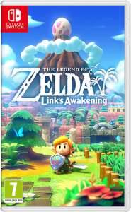 Legend of Zelda Link's Awakening voor de Switch à €43,77 bij Amazon NL