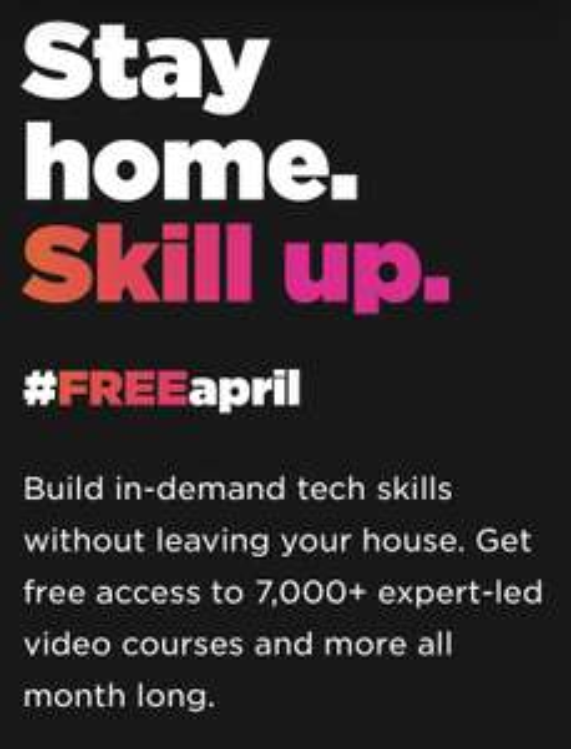 Alle online cursussen gratis bij Pluralsight in april