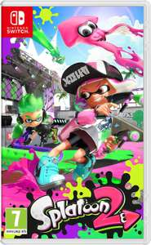 Splatoon 2 voor Nintendo Switch à €40,40 bij Amazon NL