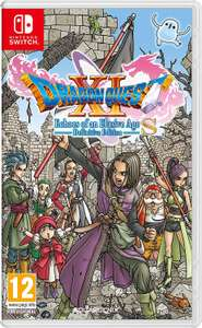 DRAGON QUEST XI S CHOES DEFINITIEVE Edition