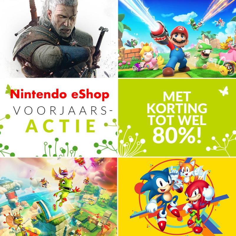 Nintendo eShop: voorjaarsactie 2020 (Nintendo Switch) Deel 1