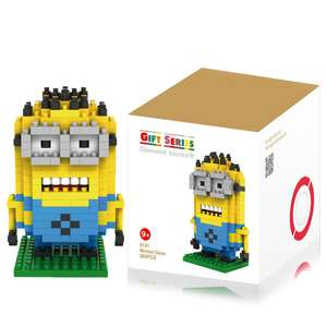 [UPDATE: Nu €2,69] Minion Building Block (260 stukjes) voor €3,34 @ Everbuying