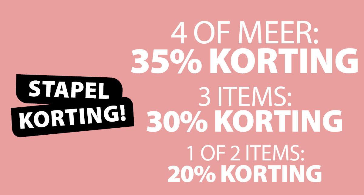 Stapelkorting - tot -35% @ terStal