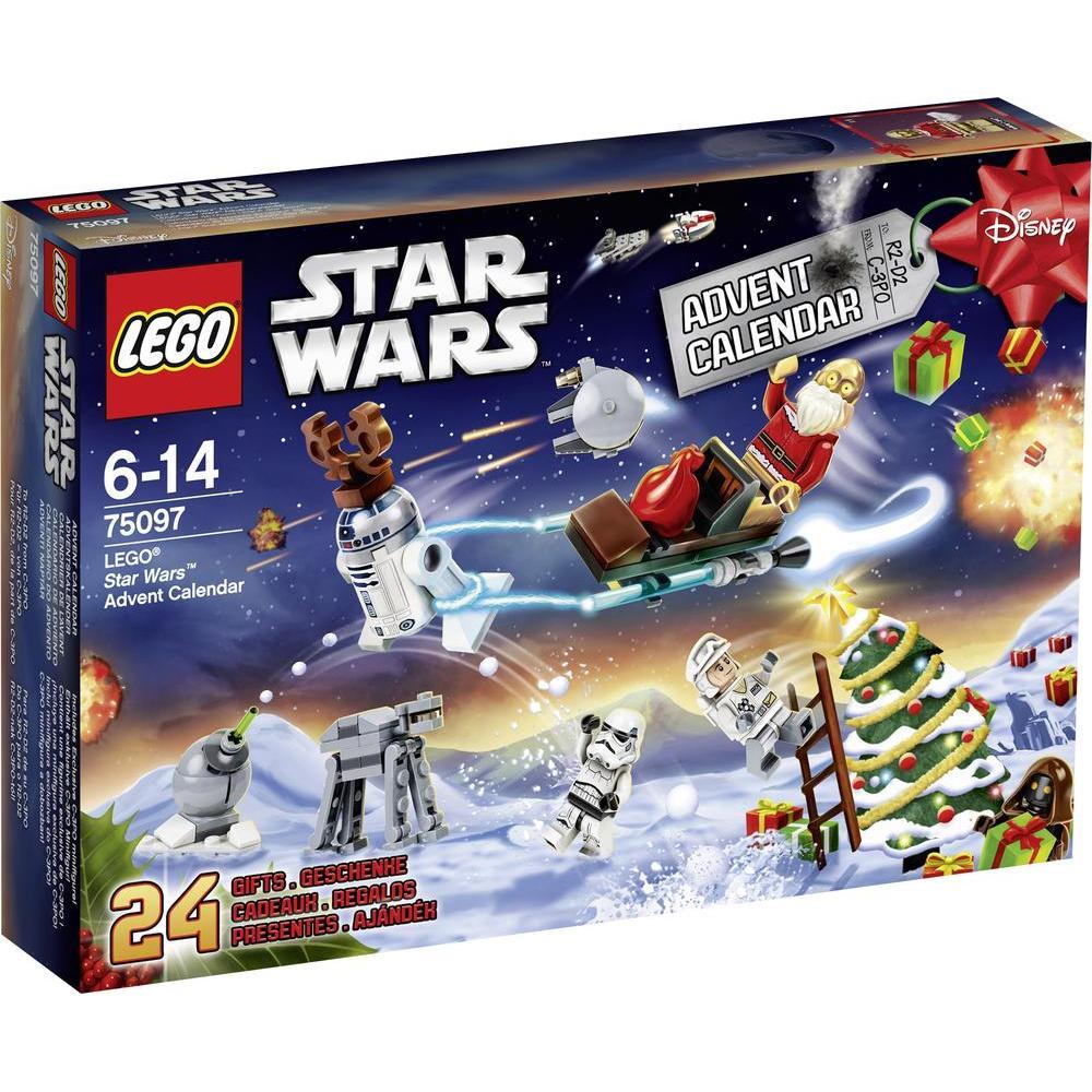 Lego Star Wars Adventskalender voor maar € 29,99