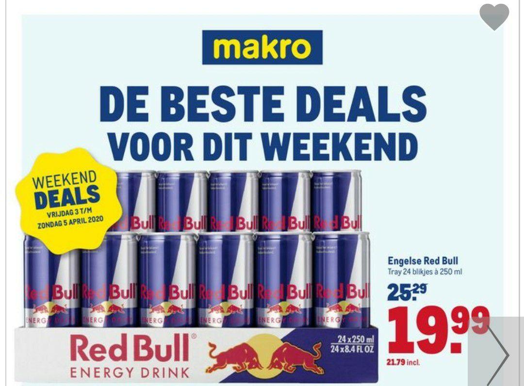 Red Bull Aanbiedingen Makro