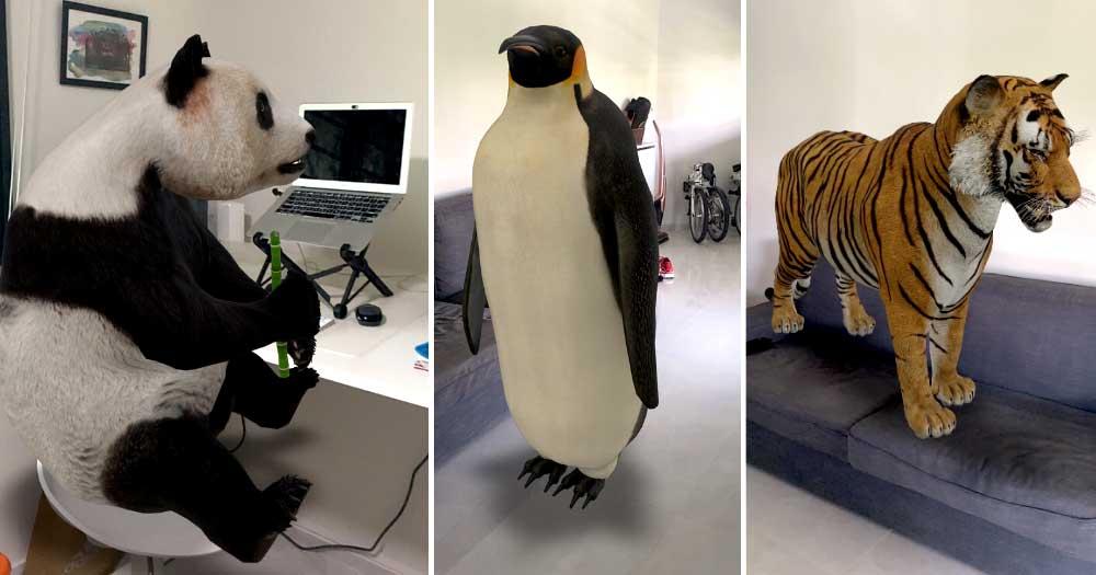 GRATIS: een 3D dier in je huis - LEUK!! @ Google
