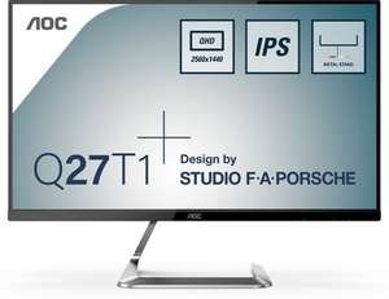AOC Style-line Q27T1 27-inch QHD IPS Monitor @ Bol.com