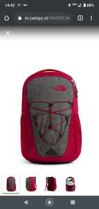 The North Face Jester rugzak / Dark grey - Cardinal red