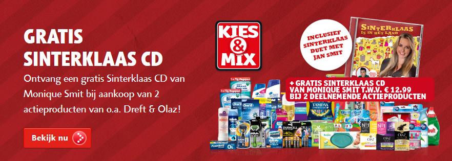 Gratis Sinterklaas CD t.w.v. €12,95 bij twee actieproducten (al voor €2!) @ Kruidvat