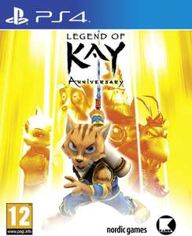 Legend of Kay Anniversary - PS4 spel