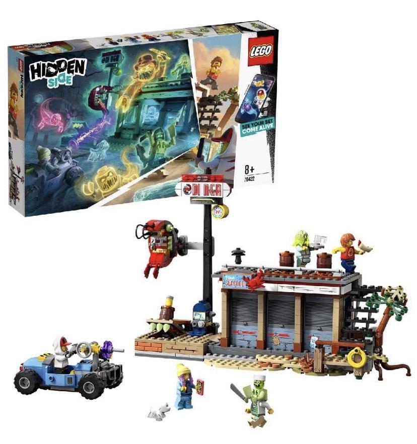 LEGO® Hidden Side Aanval op het garnalententje