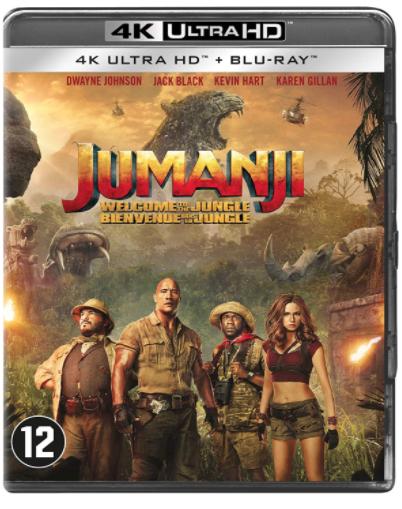 Jumanji Welcome To The Jungle 4K - €7,99 - Amazon.nl