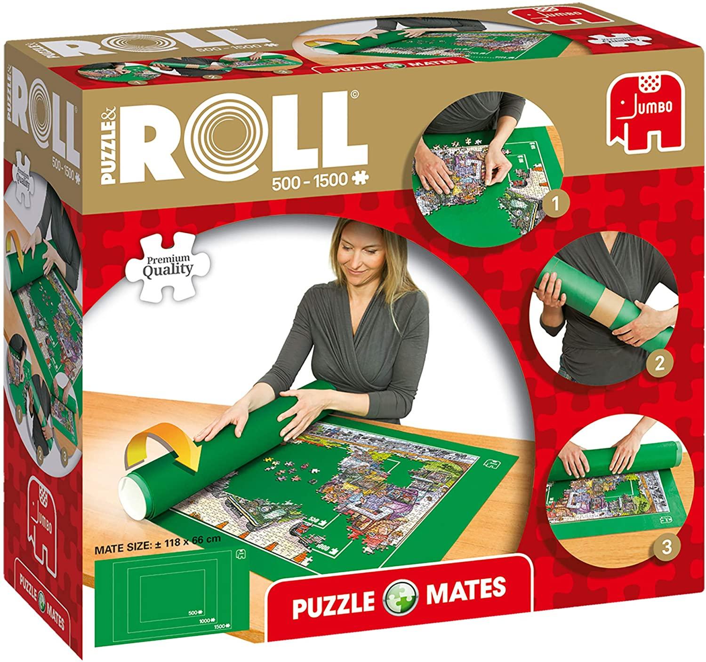 Puzzel oprollen tot 1500 stukjes