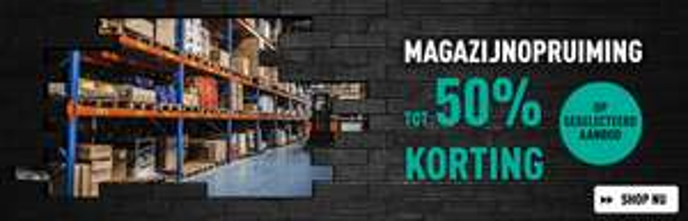 Magazijnopruiming - Tot 50% korting bij Bax Music