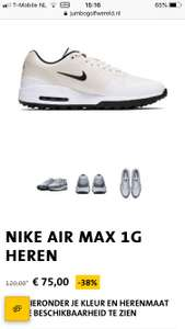 Nike Air Max Golf White mt 40 en 43