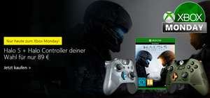 Xbox One Halo 5 Wireless Controller + Halo 5: Guardians voor €89,- @ Microsoft Store