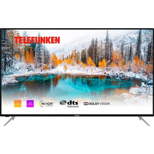 Telefunken D65V800M4CWH | 65 inch 4K UHD HDR TV