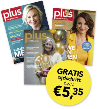 Vraag nu gratis een Plus Magazine aan @ V&D