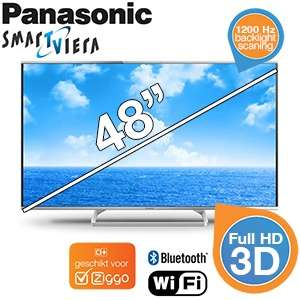 Panasonic TX-48AS640E 3D Smart-TV voor €578,90 @ iBOOD