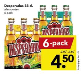 Desperados 4,50 per 6
