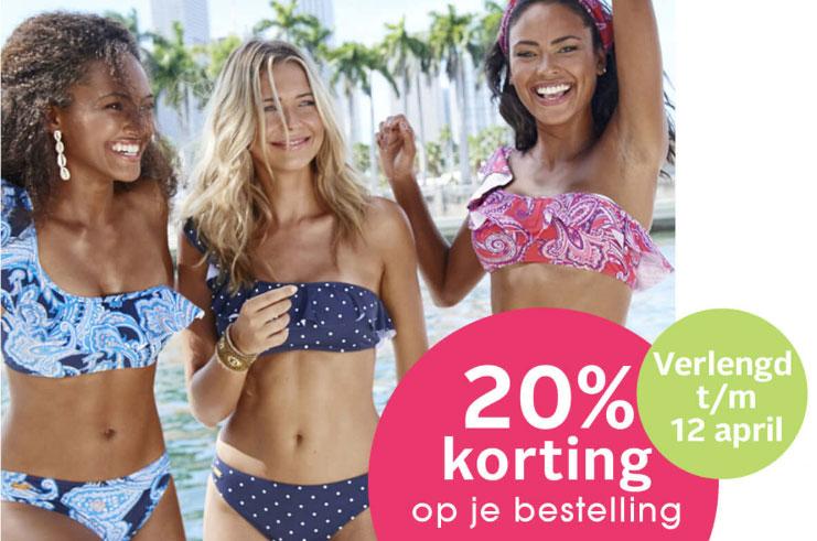 Met code 20% korting - ook op sale tot -70% @ Lascana