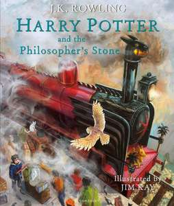 Harry Potter and the Philosopher's Stone (Illustrated Edition) voor €19,99 @ Bol.com