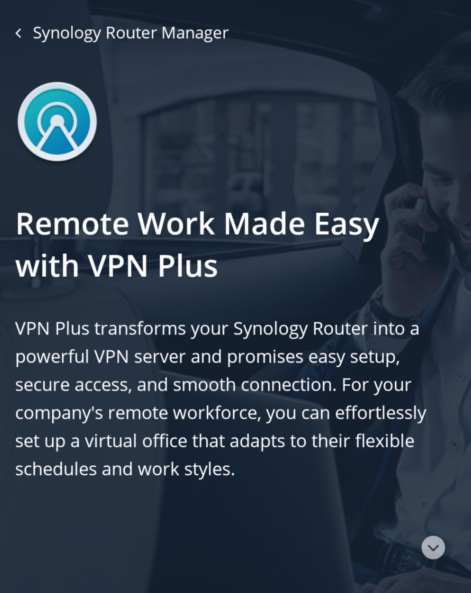 Tijdelijk Gratis Synology VPN Plus licentie