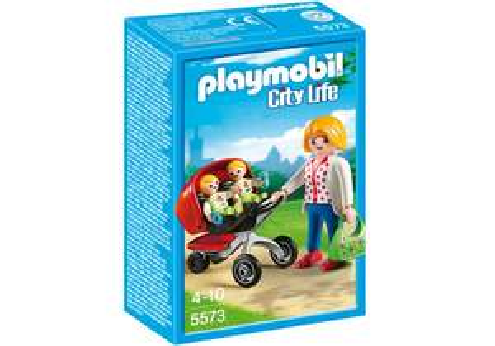 Playmobil City Life 5573 Tweeling kinderwagen voor €3,04 @ Amazon DE