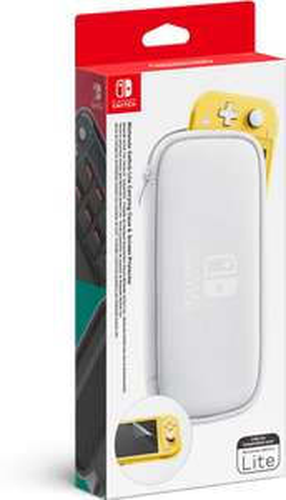 Nintendo Switch Lite Carrying Case wit + Screen Protector voor €10,39 @ bol.com