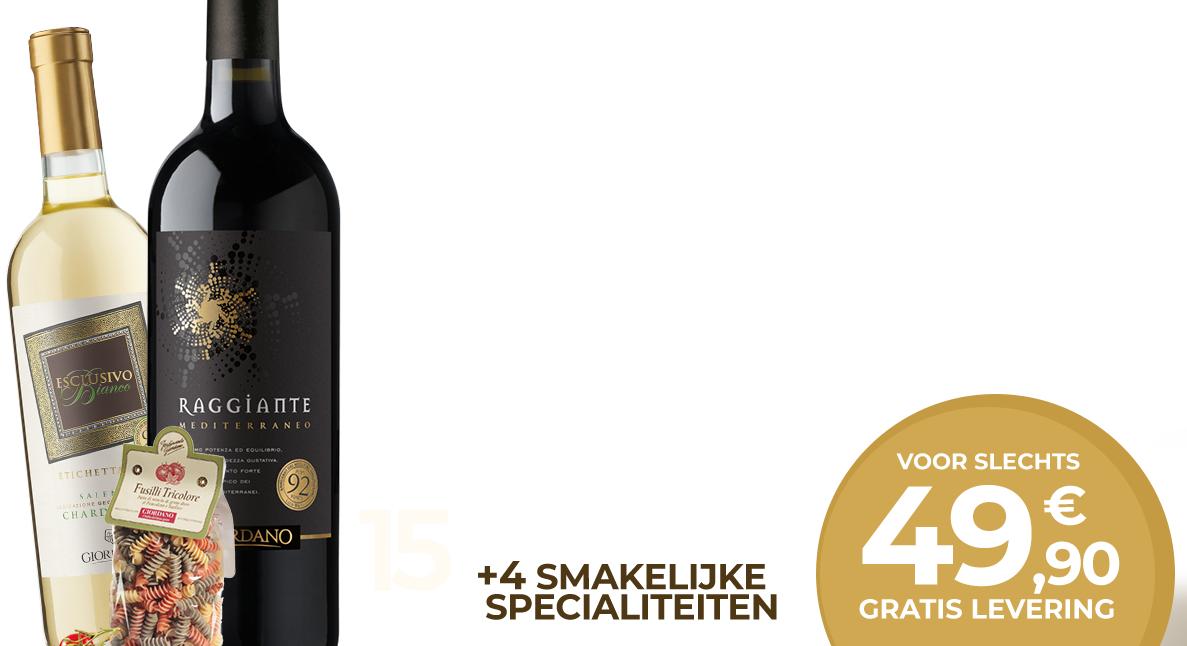 15 Wijnen + 4 Delicatessen @ Giordano Vini