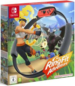Ring Fit Adventure voor Nintendo Switch. Levering rond 27 april