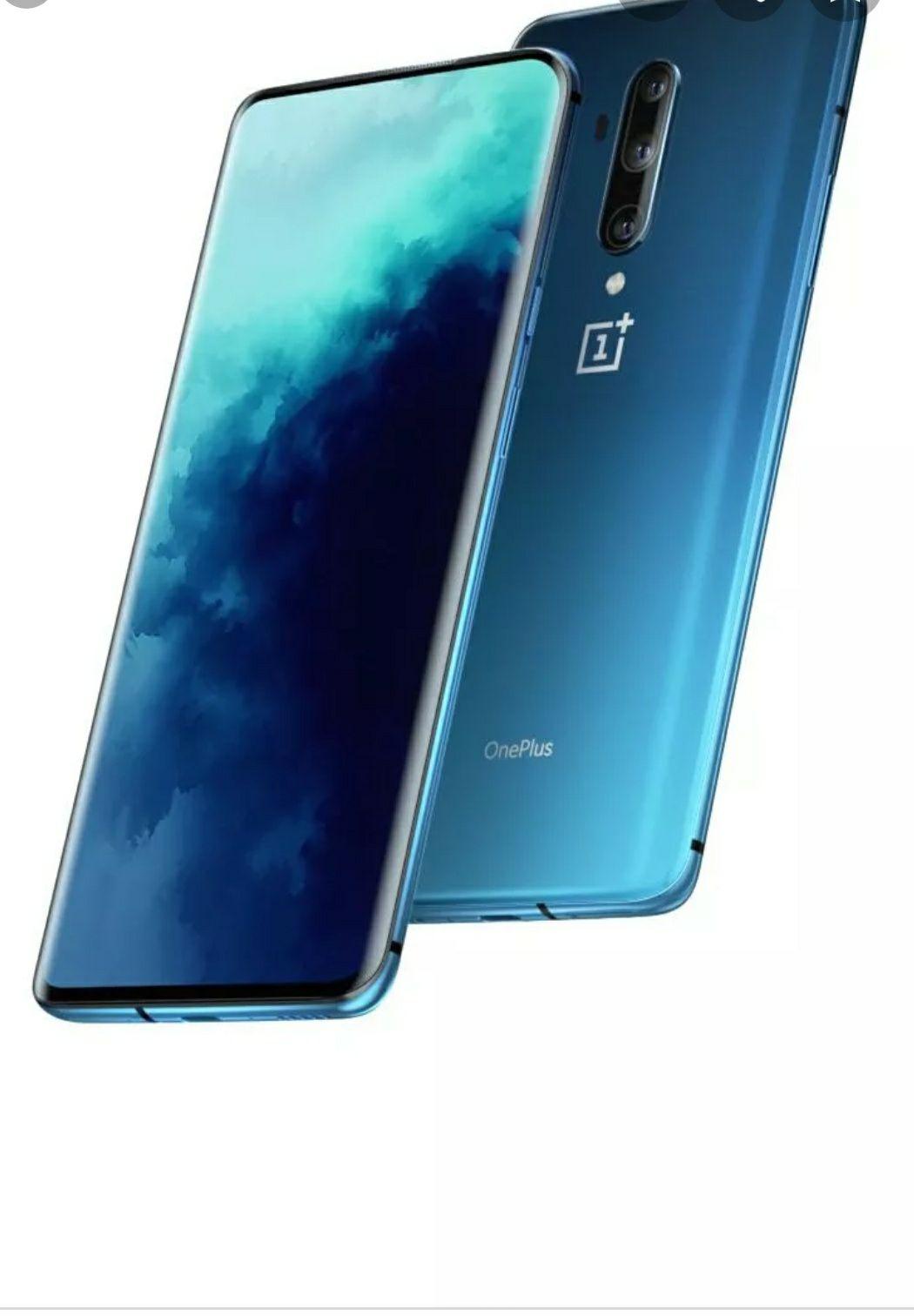 One Plus 7t pro 256 gb blauw