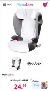 Zomerhoes voor Cybex pallas S-fix /sollution S-Fix.
