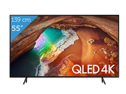 "Samsung QLED Q60R TV | 55"" (€599,95) | 65"" (€849,95)"