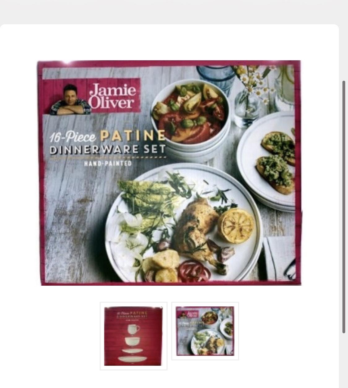 Jamie Oliver 16-delig serviesset