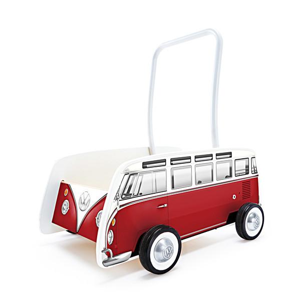 Houten VW T1 loopwagen