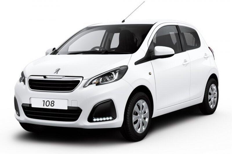 Peugeot 108 private lease €209 per maand actie