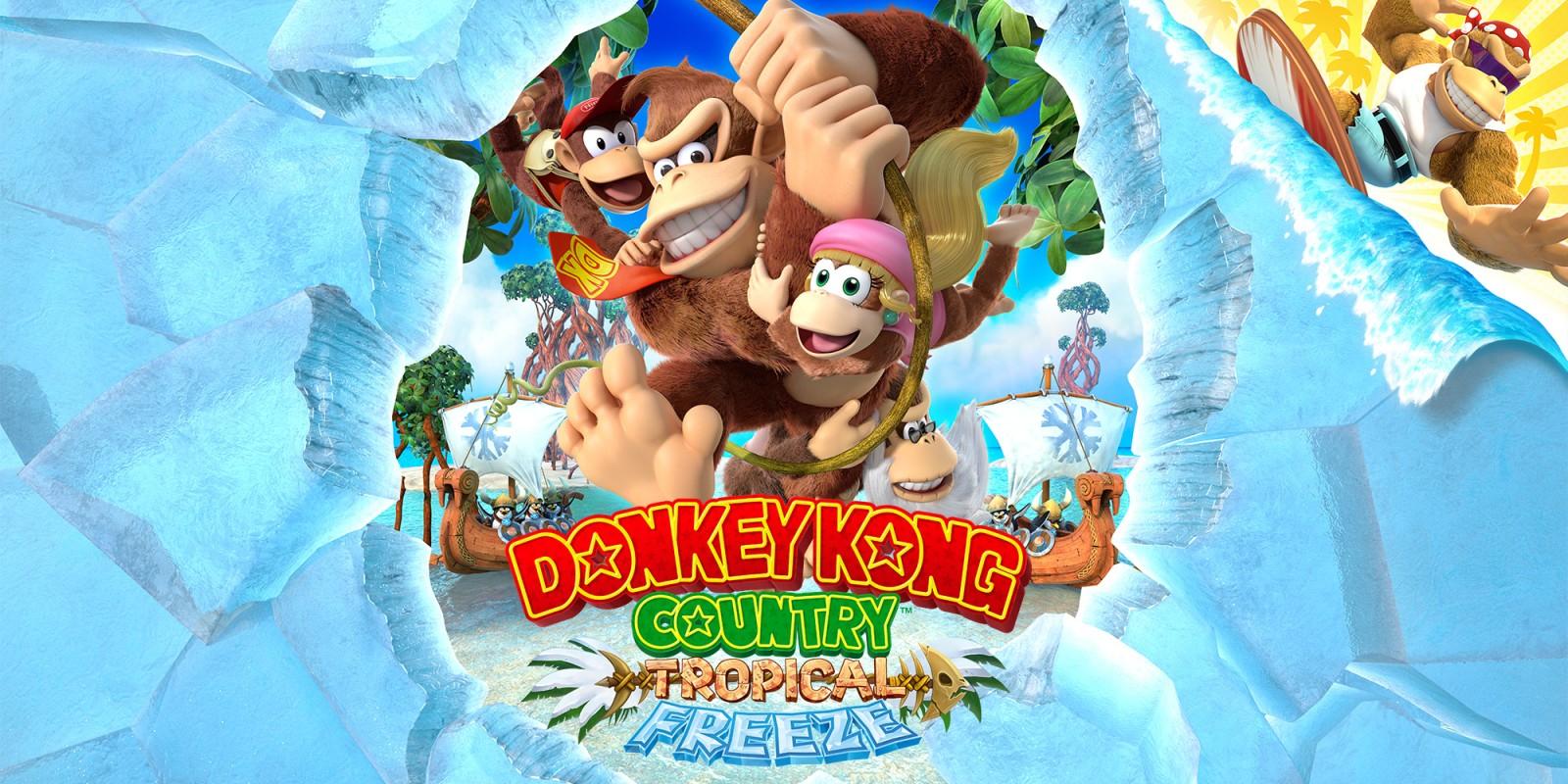 Donkey Kong Country Tropical Freeze voor switch voor €39,99 bij eShop
