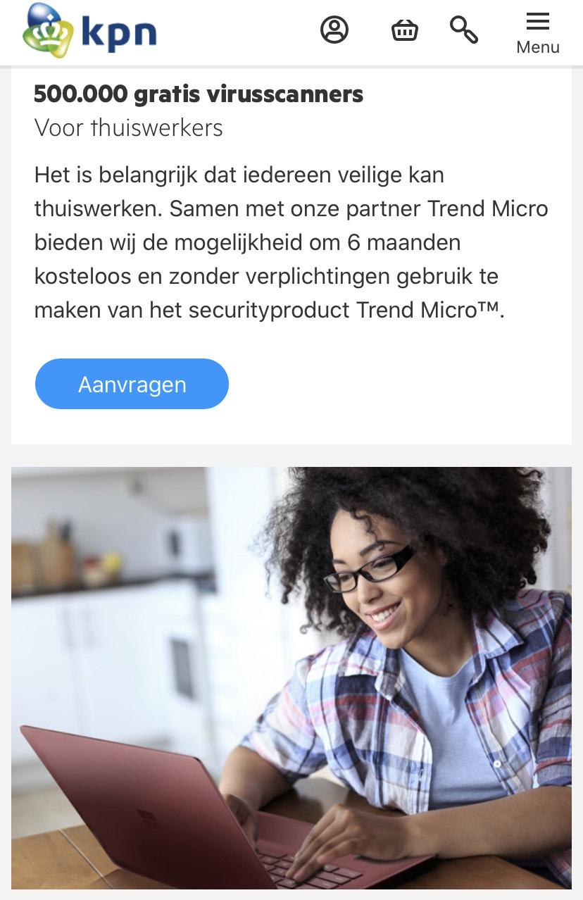 [Gratis] 6 maanden antivirus scanner Trend Micro Maximum