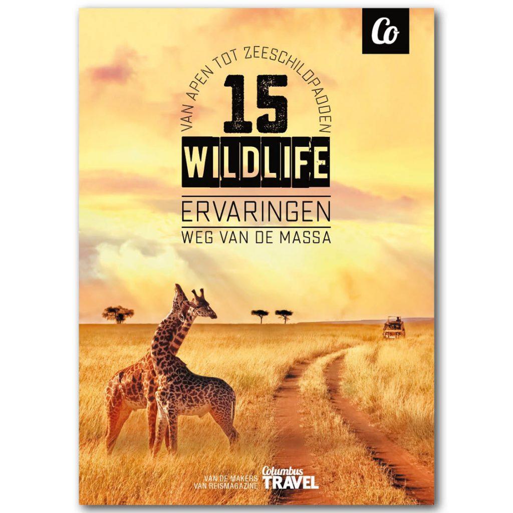 Boek (Columbus Travel): 15 Wildlife ervaringen weg van de massa met 50% korting, nu voor € 7,50.