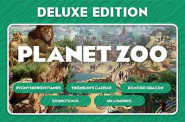Planet Zoo 25% korting @steam
