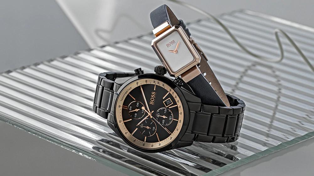 Diverse Hugo Boss horloges flink afgeprijsd
