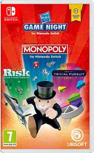 Hasbro Game Night voor Nintendo Switch - Monopoly, Risk en Trivial Pursuit