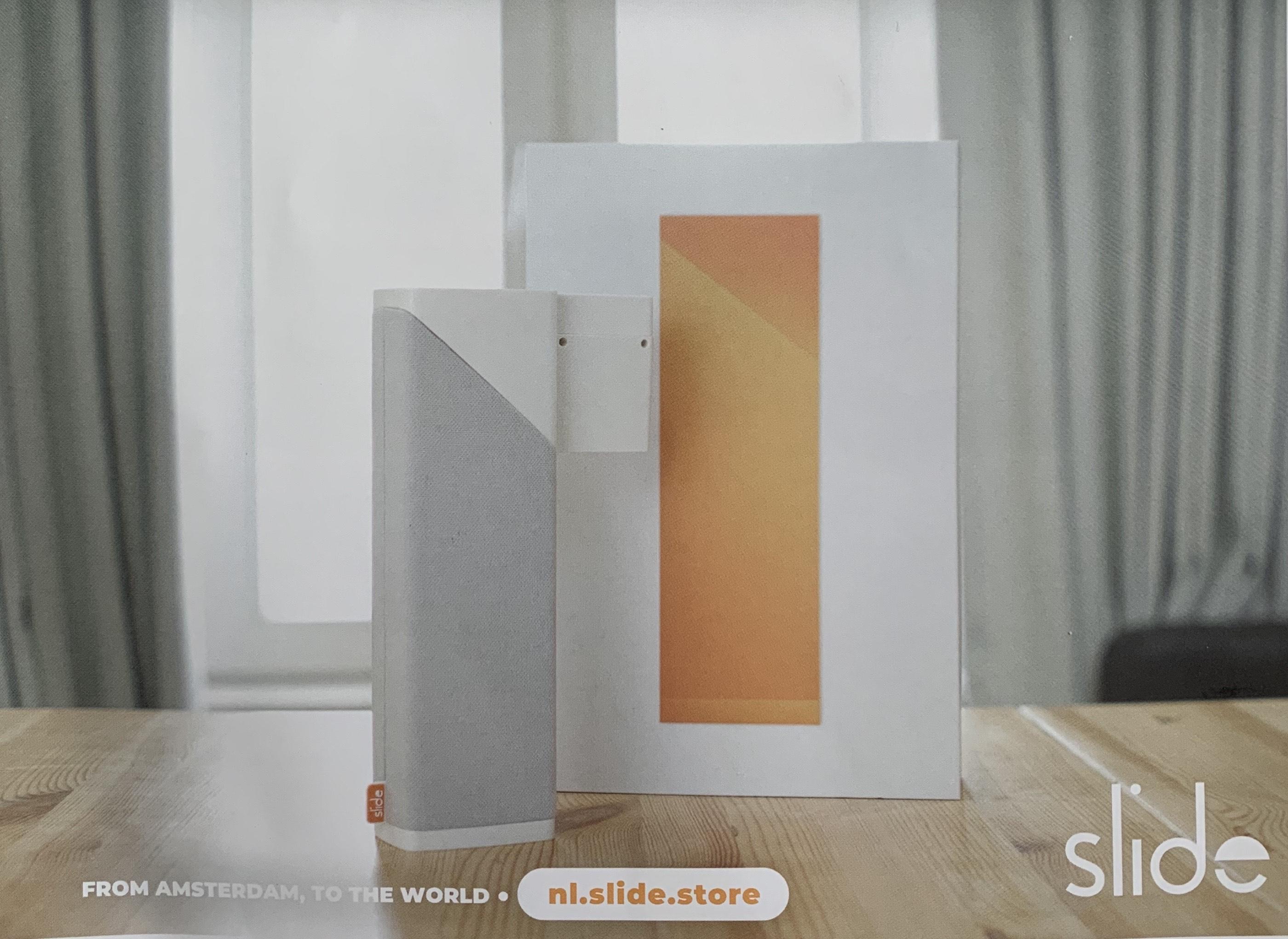 30€ korting op Slide slimme gordijnen