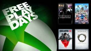 Free Play Days – Gears 5, Override: Mech City Brawl, Hitman: The Complete First Season, and Elder Scrolls Online Tamriel Unlimited