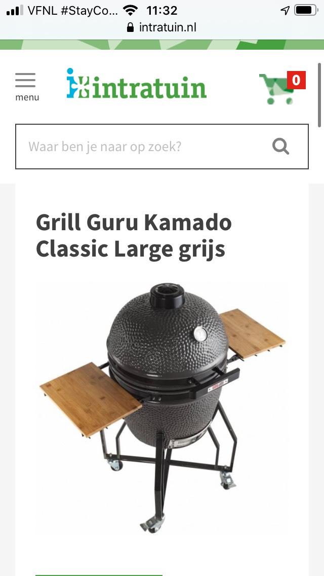 Grill guru Kamado classic