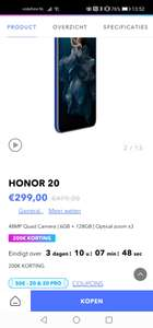 Honor 20 6gb 128gb